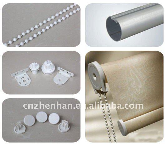 Aluminum Curtain Track Rail Rod Round Lower Bottom Tube