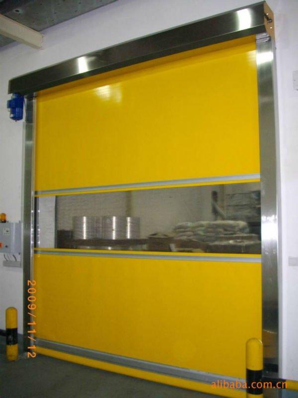 Industrial Freezer Rapid Roll Up Door For Cold Rooms