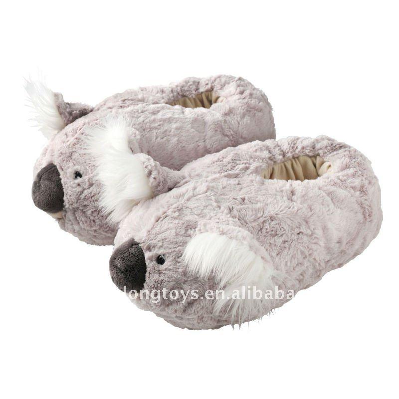Snuggle up slippers koala buy hot indoor slipper plush - Lustige pantoffeln ...