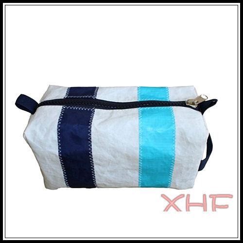 (XHF-WALLET-088) 8 OZ canvas zipper bag with 3 color