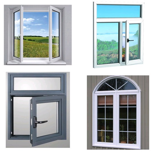 Aluminium windows in pakistan balcony glass curtain window for Door and window design
