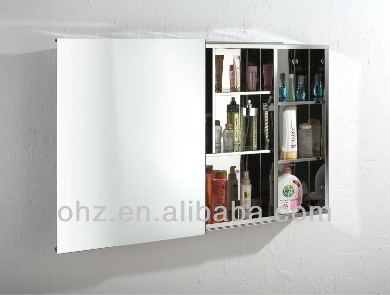 Neues Design Edelstahl Schiebetur Bad Spiegelschrank A7009 Buy