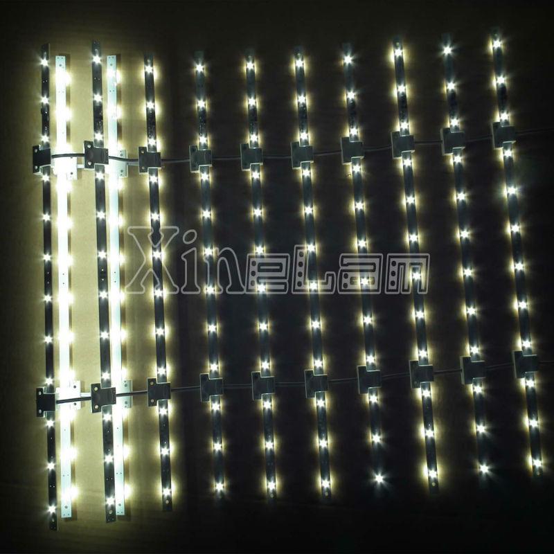 Grid Pattern Waterproof Flexible Led Strip Light Bar Backlit ...
