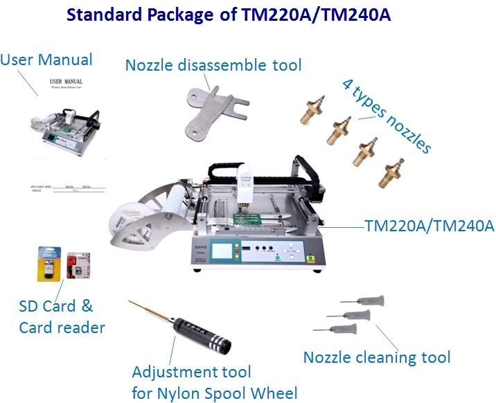 neoden Smt Bestückungsautomat Tm240a Leiterplatten Prototypen ...