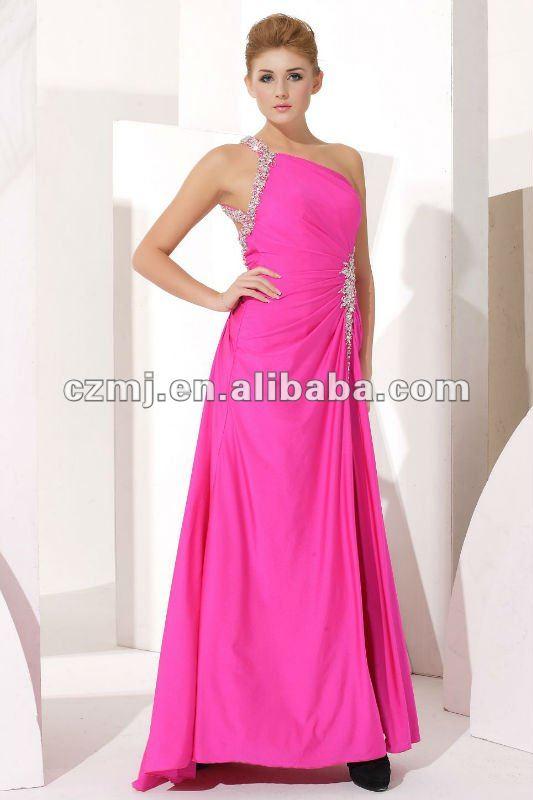 Korean Style Prom Dress Evening Dress Fashion 2012 Arab Free ...