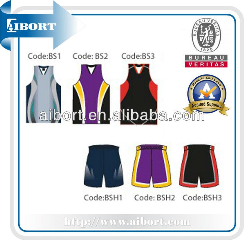 Subbs-369-4 New Style Basketball Jersey 2013