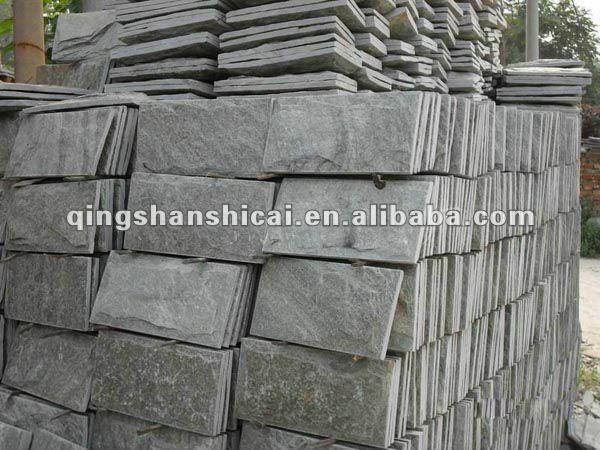 venta caliente pizarra de setas de piedra de paredes exteriores de piedra