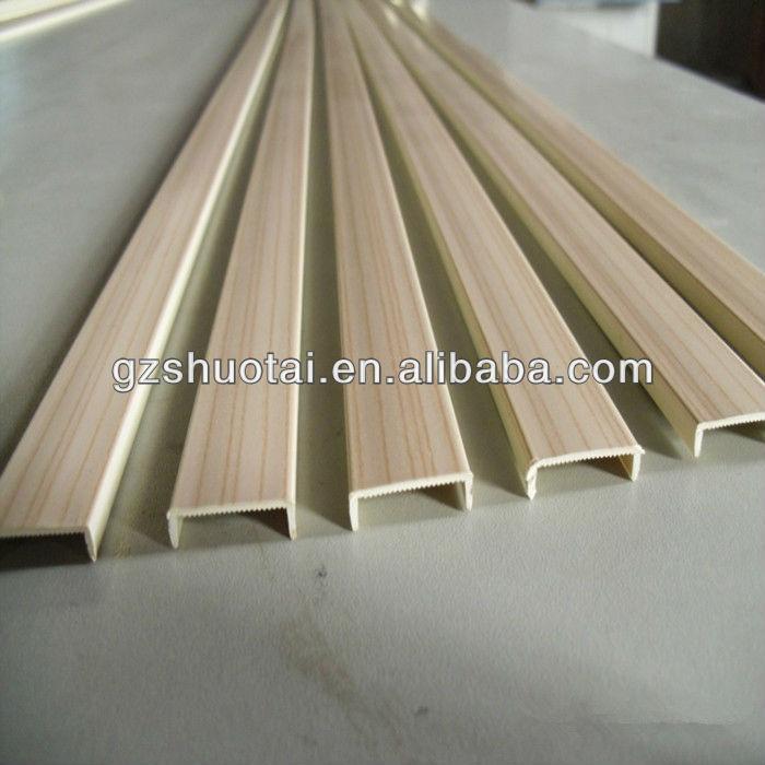 pvc u shape edge banding plastic u profile buy u shape edge banding u shape edge banding. Black Bedroom Furniture Sets. Home Design Ideas