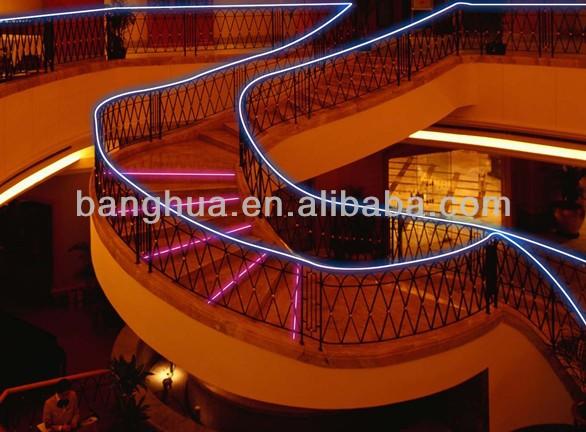 Flexible Solid Core Side Glow Led Fiber Optic For Light Decoration ...