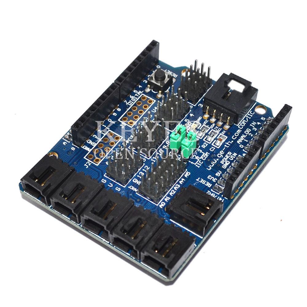 Free Shipping! Sensor shield V4 digital analog mod...