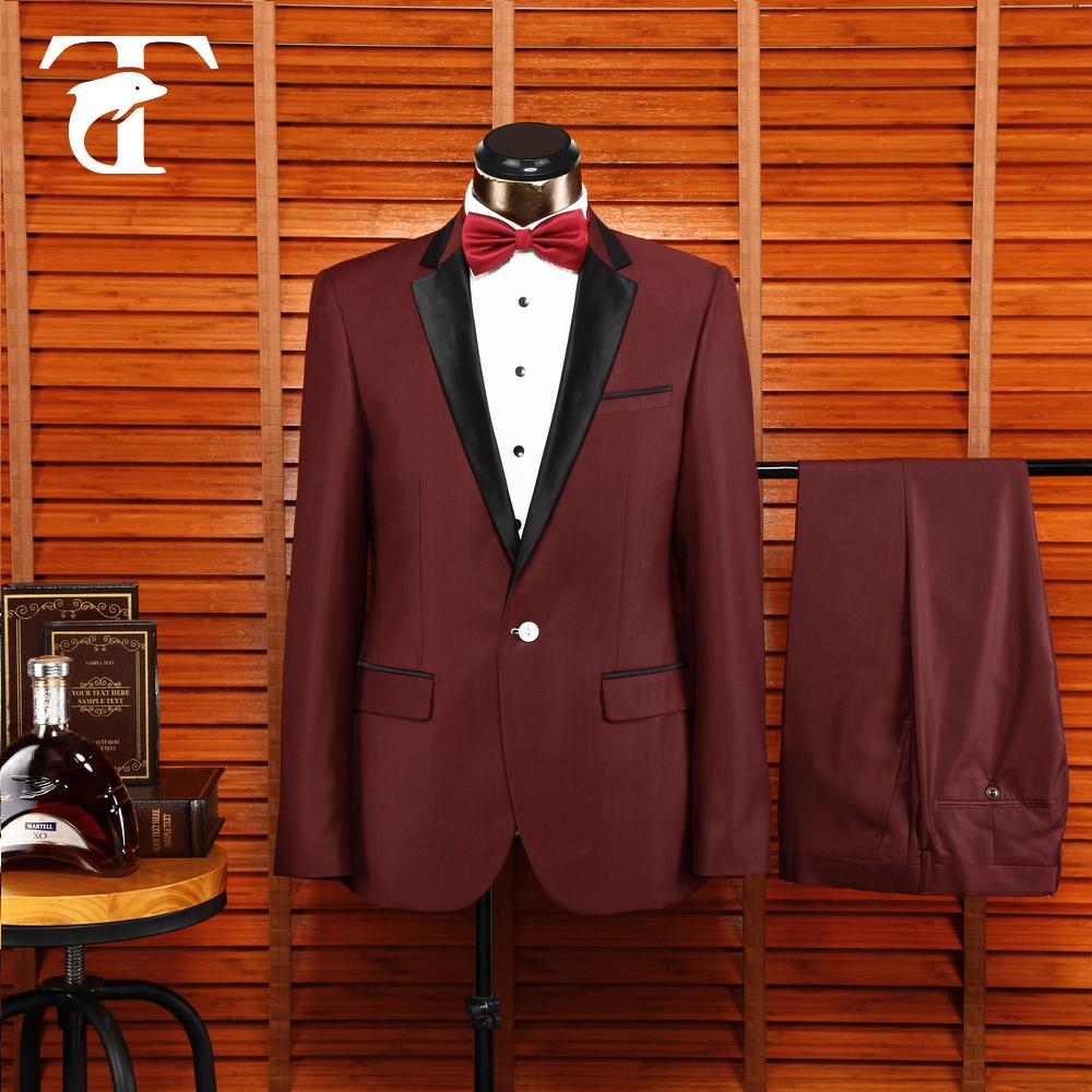 Mens Luxury Casual Dress Suit Slim Fit Stylish Blazer Anlis