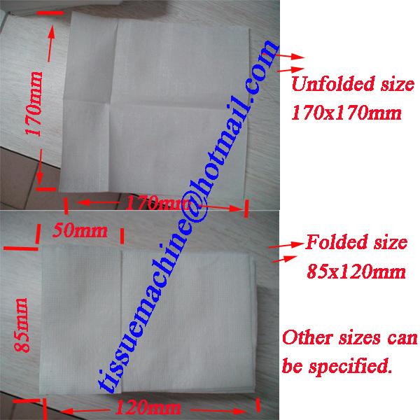 dispenser paper napkin machine