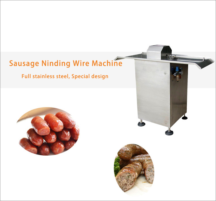 Henan Low Price Electric Pork Sausage Tying Machine For