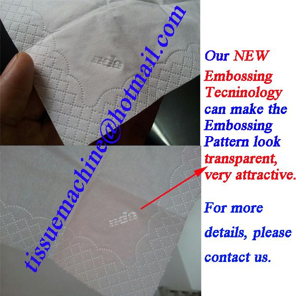 Auto transfer napkin machine