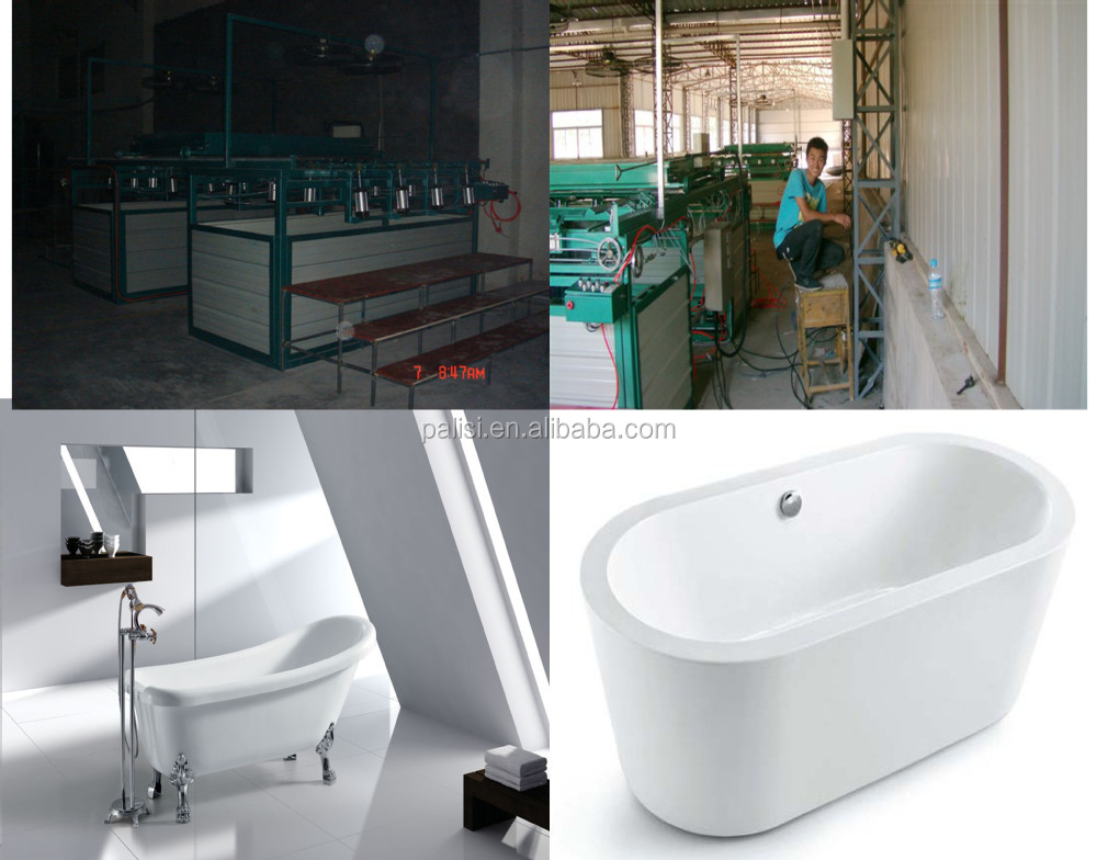 Acrylic Abs Bathtub Tray Bath Tub Vacuum Thermoforming