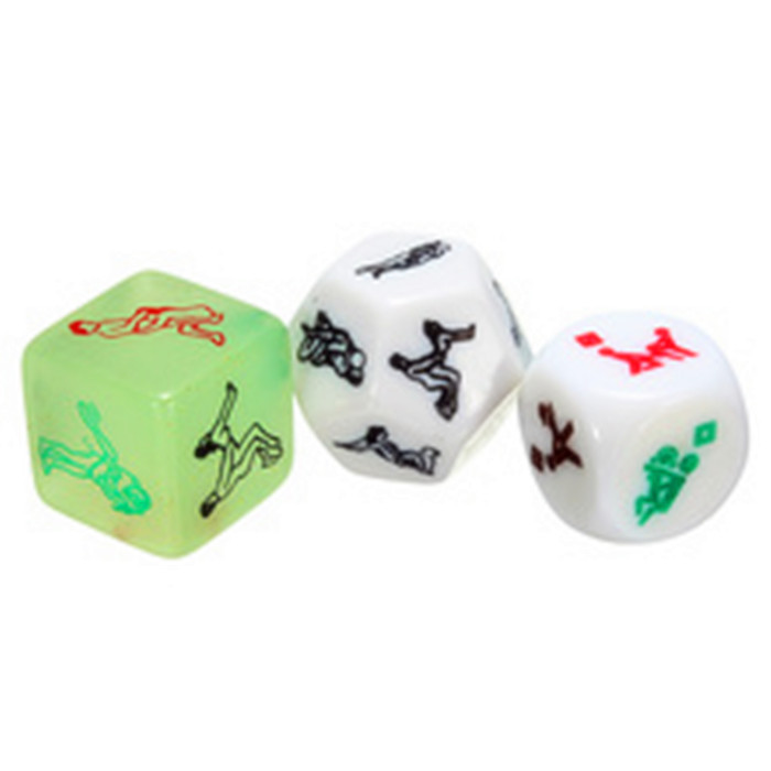 Hot Sale Sex Dice Wholesale Printed Acrylic Polyhedral ...