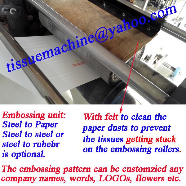 fully automatic napkin folding cutting line