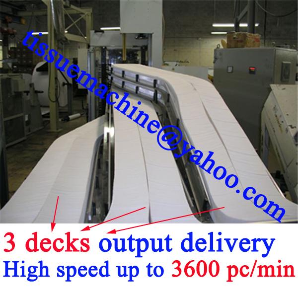 single v fold napkin machine