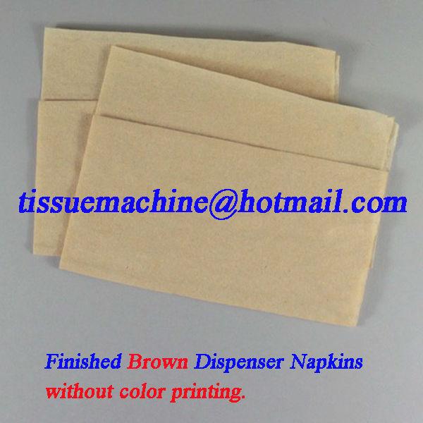 high speed dispenser napkin machine