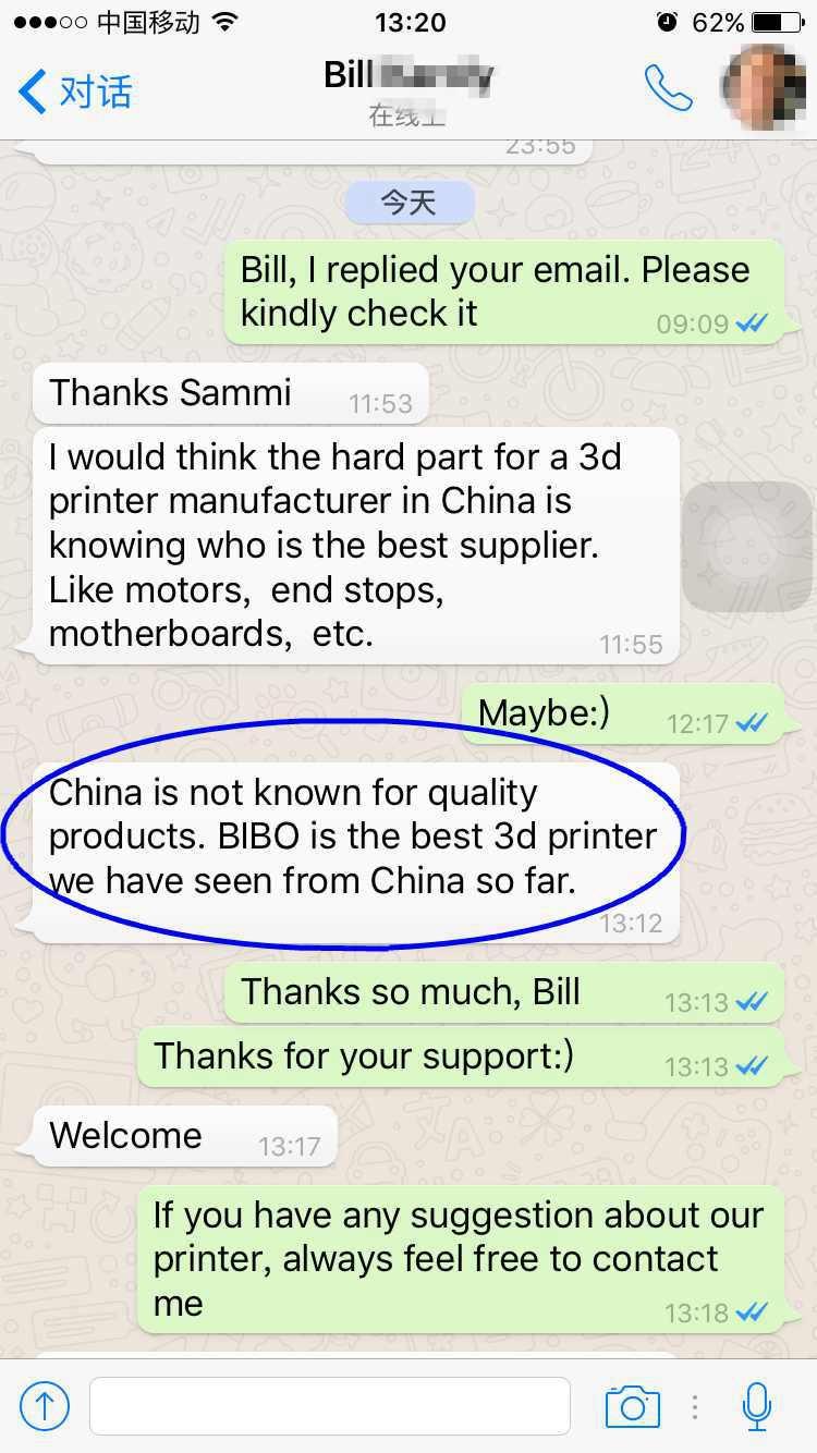 bibo 3d printer metal frame dual extruder laser engraving