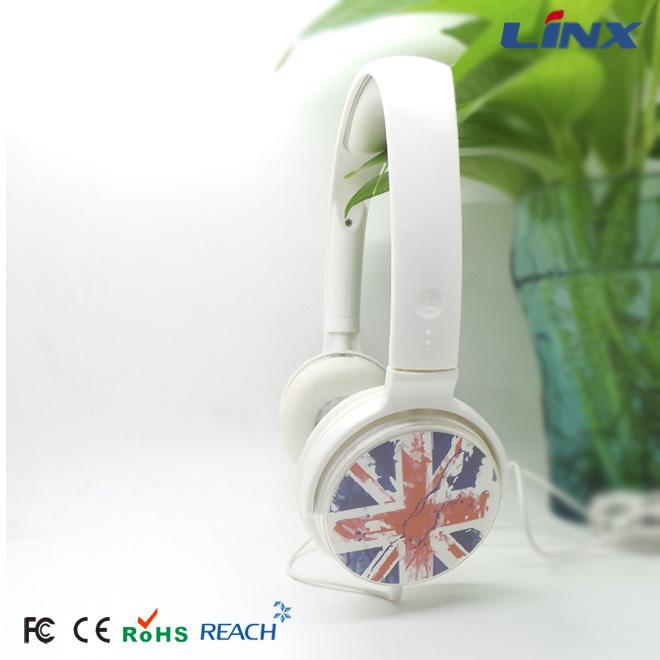 Good sound quality custom logo headphone headset