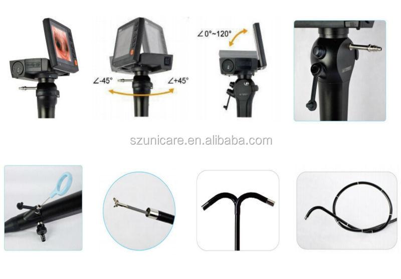 Portable Flexible Video Endoscope 2 2mm Biospy Channel(id:9321413