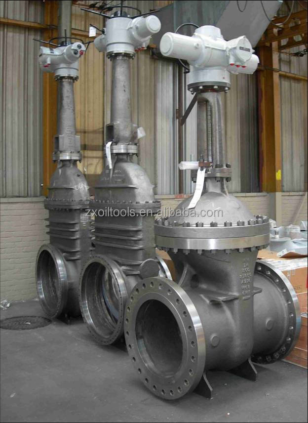 Extension Rod Gate Valve Angle Valve For Oil And Gas
