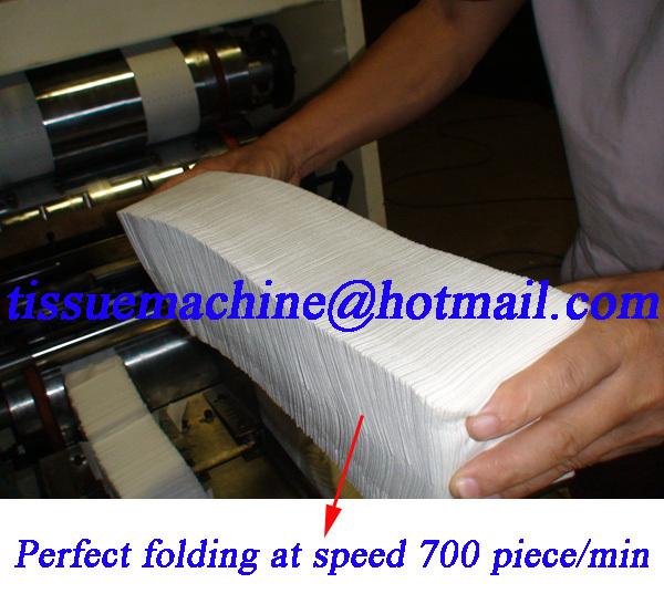 automatic dispenser napkin machine