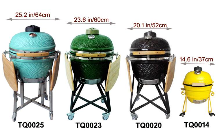 china portable ceramic kamado charcoal manufacturer. Black Bedroom Furniture Sets. Home Design Ideas