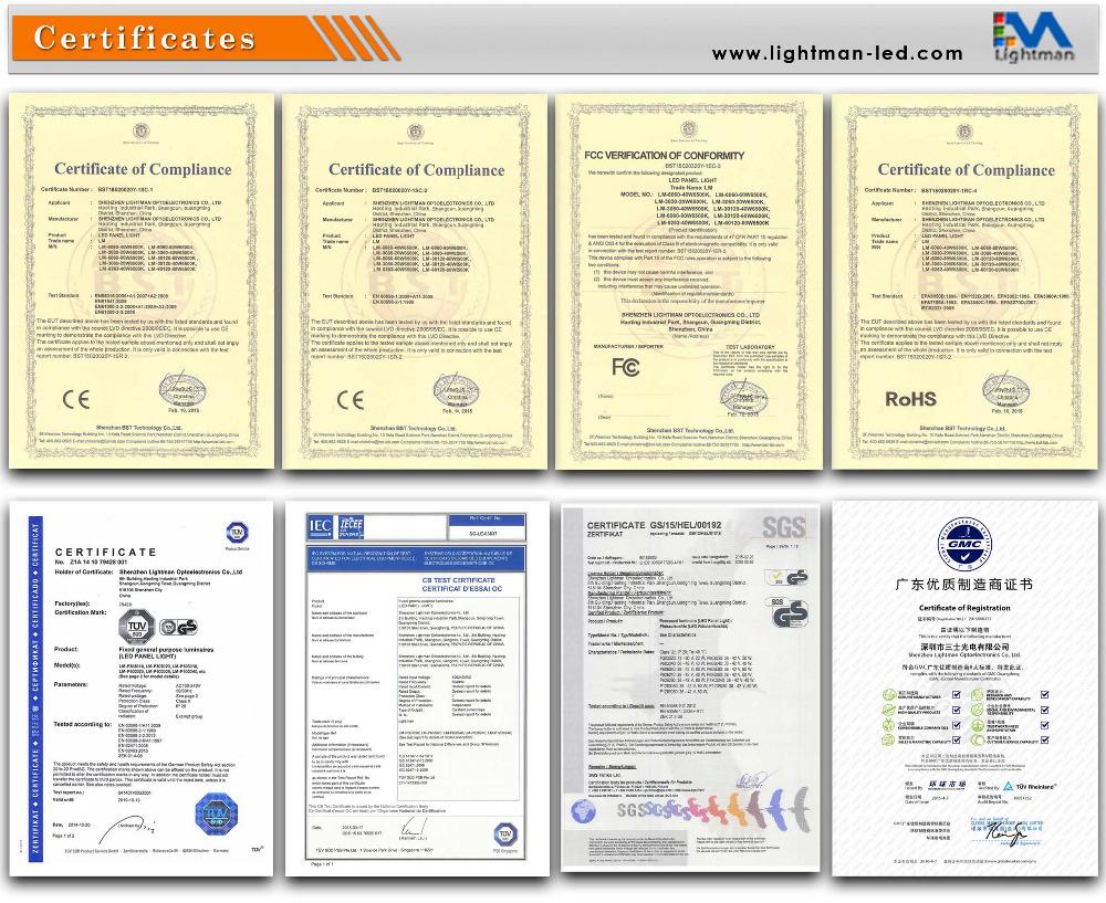 Rgb Panel 620x620mm M Shenzhen Lightman Optoelectronics Co
