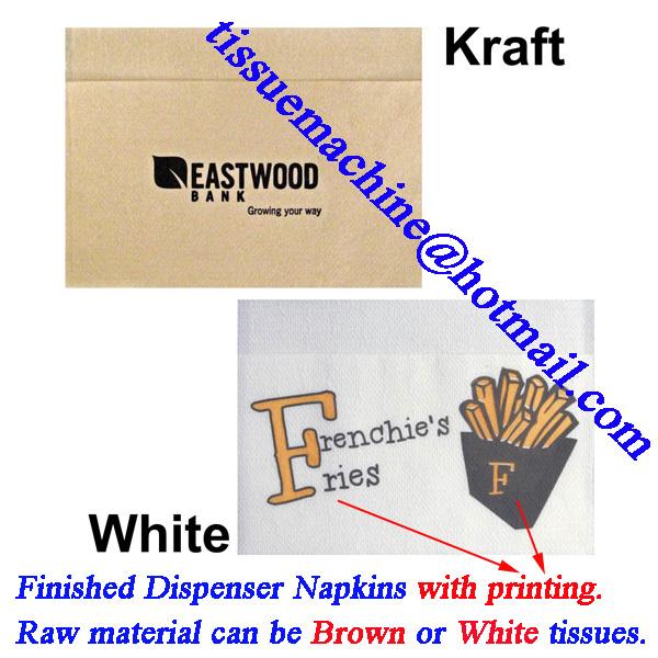 dispenser napkin machine in China