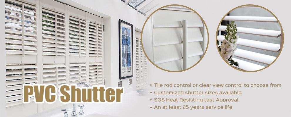 Buy Vinyl Window Shutter Decoration Profiles Vinyl Window