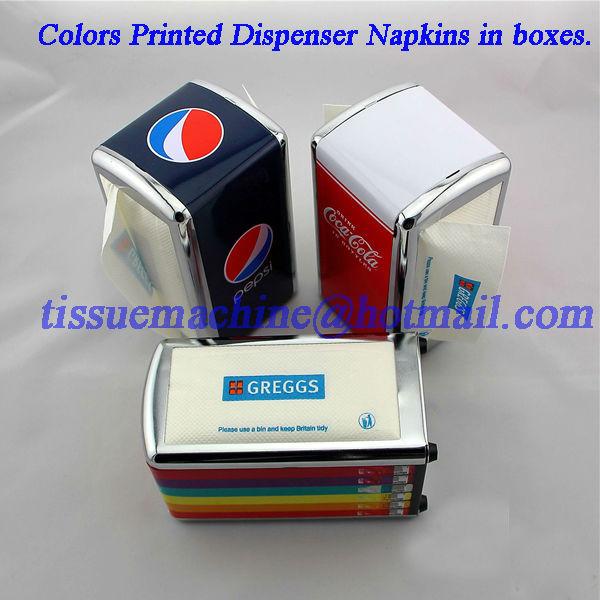 dispenser paper napkin folding machine