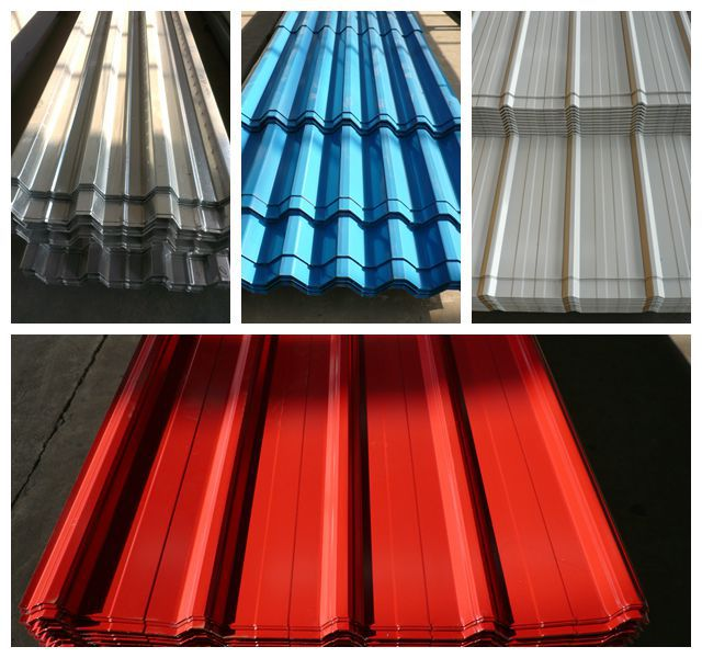 Construction Material Sgs Sea Blue White Red Color Small