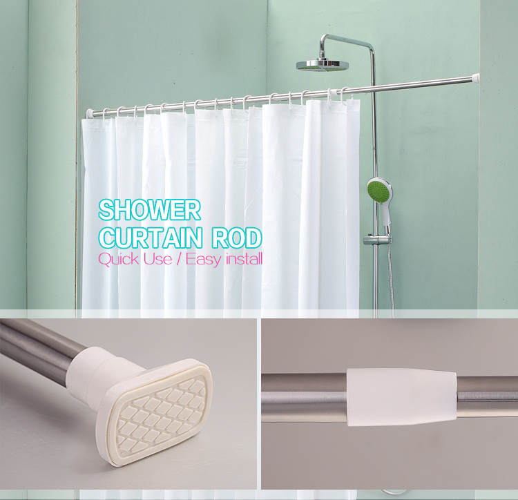 High Quality Flexible Curtain Rail Multifunctional Rods And Rails S