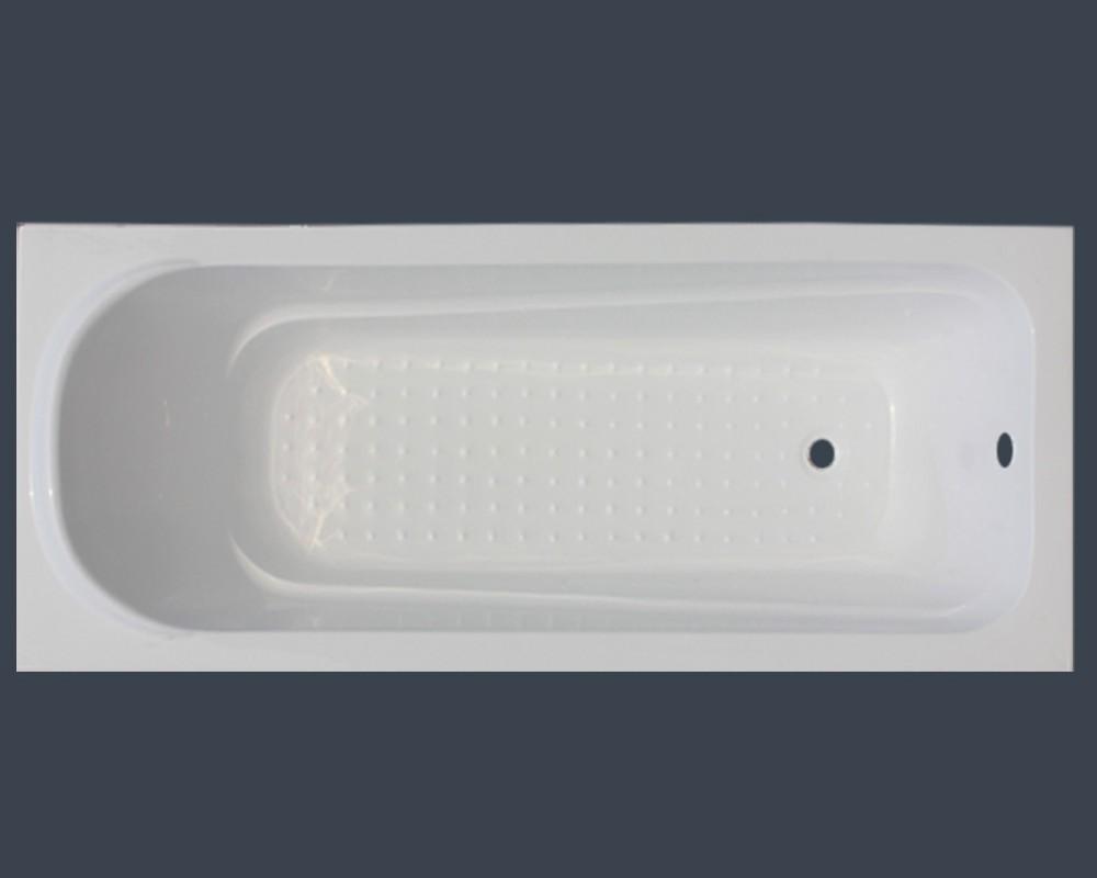 Pure Drop In Cheap Fiberglass Bathtub With Anti Slip Id