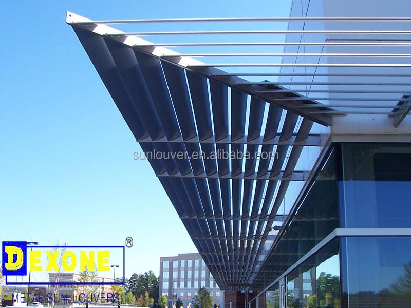 Fixed Exterior Aluminum Sunshade As Window Louver Buy