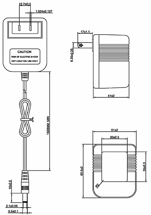 Euro Plug Adaptor Linear Ac Adapter 5 6v 80ma 10v 1 2a 12v