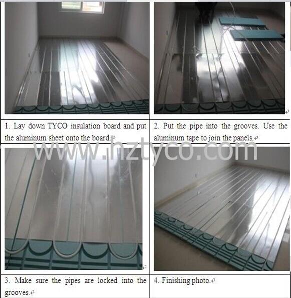 In Floor Warmboard Alternatives Radiant Subfloor Easy