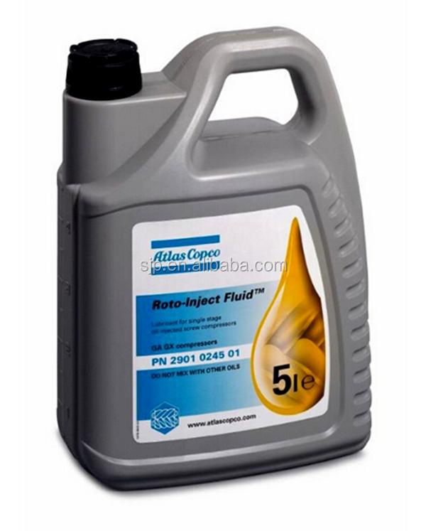 Roto Inject Fluid Oil 5l Atlas Copco Oil For Compressor