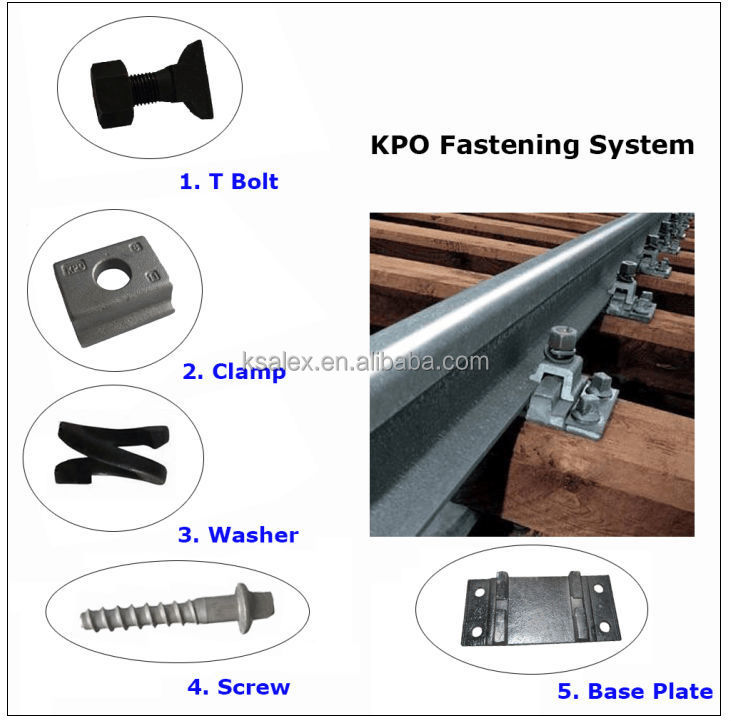 Railway Double Washer Kunshan Alex Railway Fastening Co Ltd