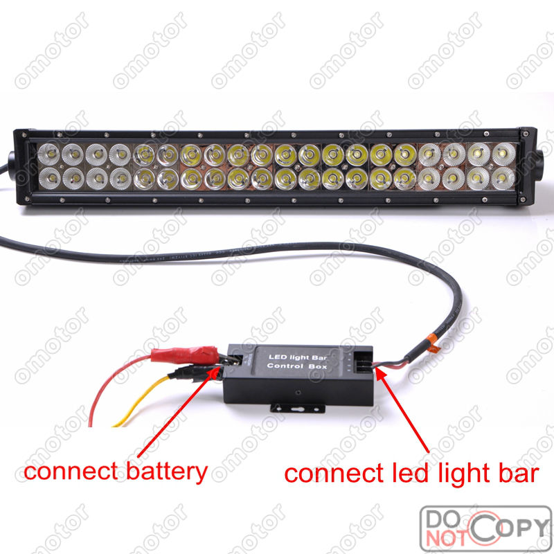 Wireless Remote Led Light Bar Control Box Flash Strobe