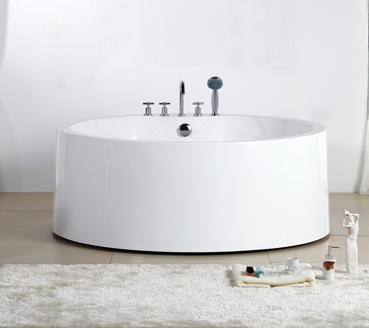Round Freestanding Sitting Used Bathtub Sizes With Cheap