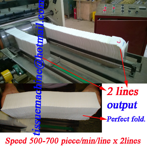 dispenser napkin folding printing machine
