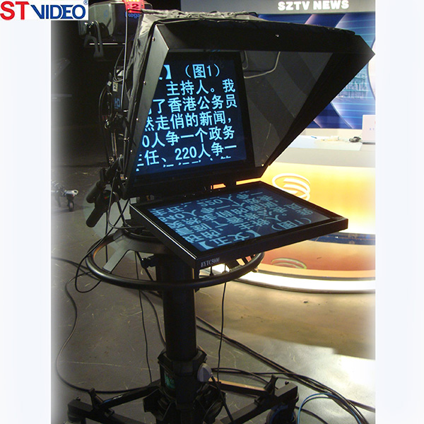 On camera Teleprompter