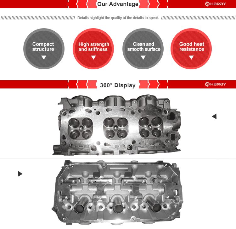 mitsubishi 6g73 6a13 engine cylinder head md307677 oem number 4M40 Engine 6g73 cylinder head 3