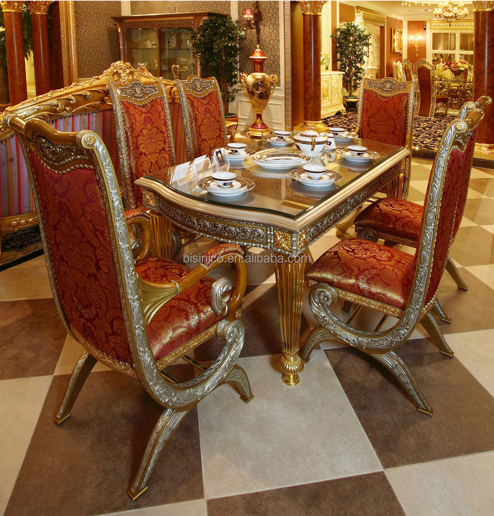 Luxury Dining Room Furniture: Luxury French Baroque Style Home Dining Room Sets/ Antique
