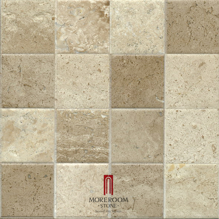 Spain Beige Marble Crema Marfil Stone Tiles Kitchen Wall