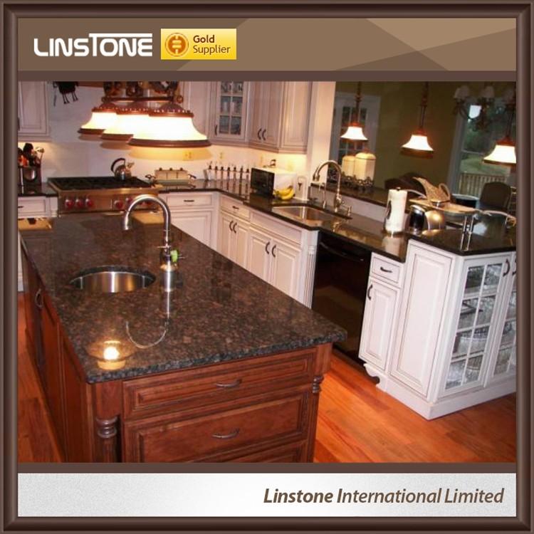 New Design Tan Brown Granite Countertop, Kitchen Island