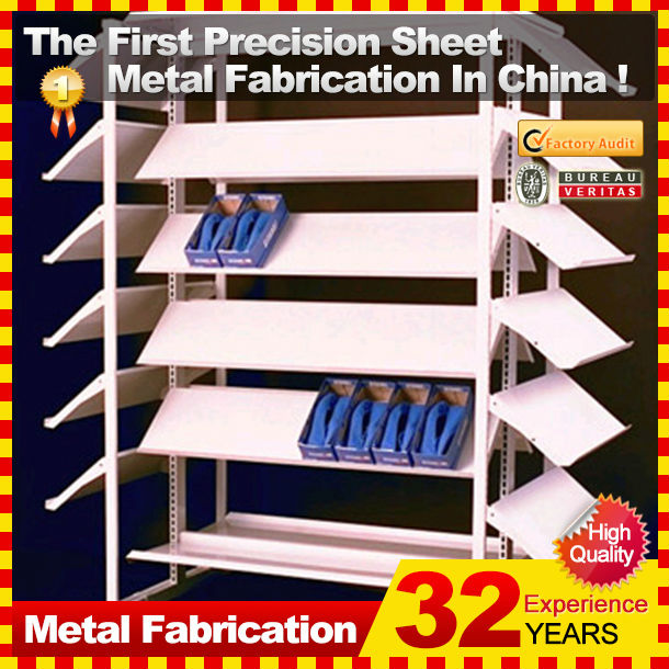 Customized Made Shoe Store Metal Wall Mount Shoe Display Rack